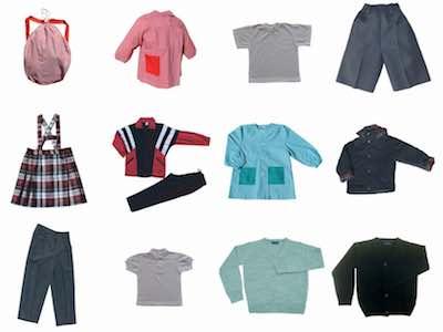 uniformes escolares ROMEU SENDROS