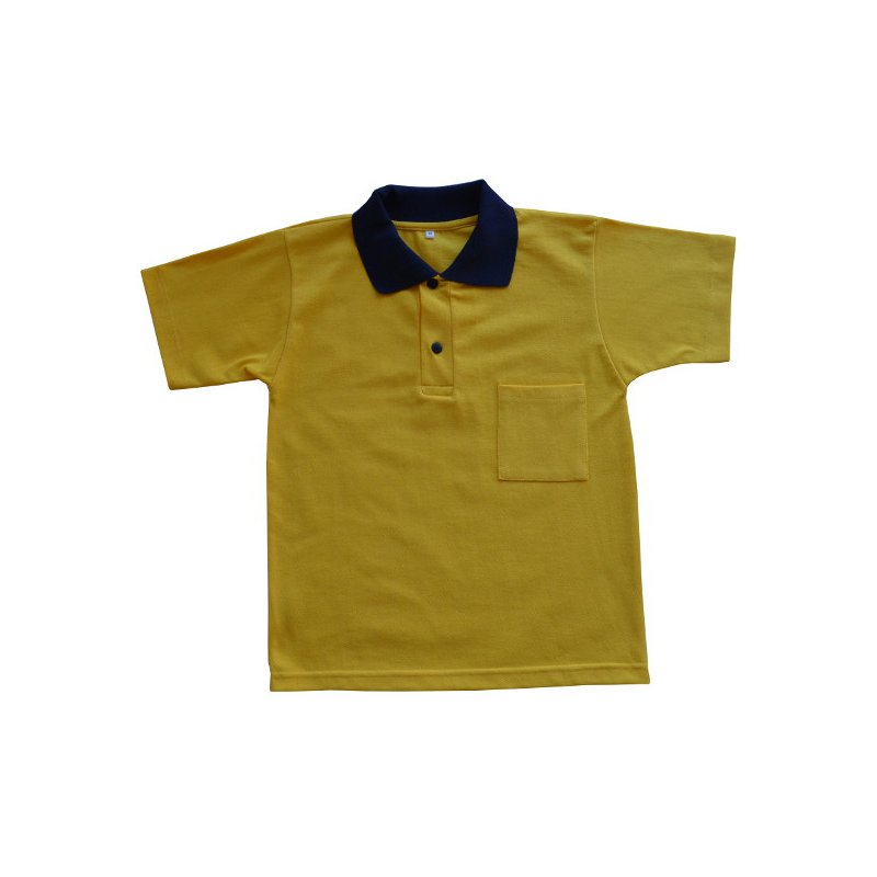 Polo amarillo mc - Uniformes escolares ROMEU SENDROS